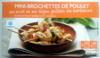 Mini-brochettes de poulet au miel et au thym grillées au barbecue - Produit