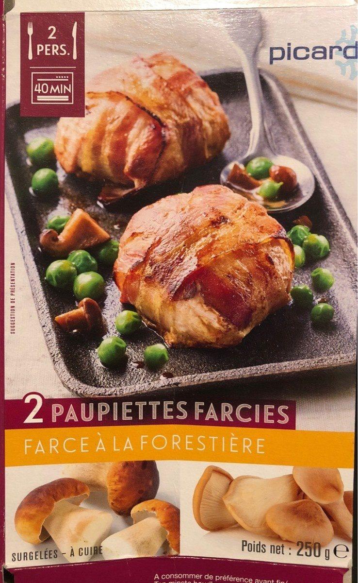 2 Paupiettes farcies à la Forestière - Produit