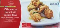 2 brochettes royal grill volaille tikka - Produit