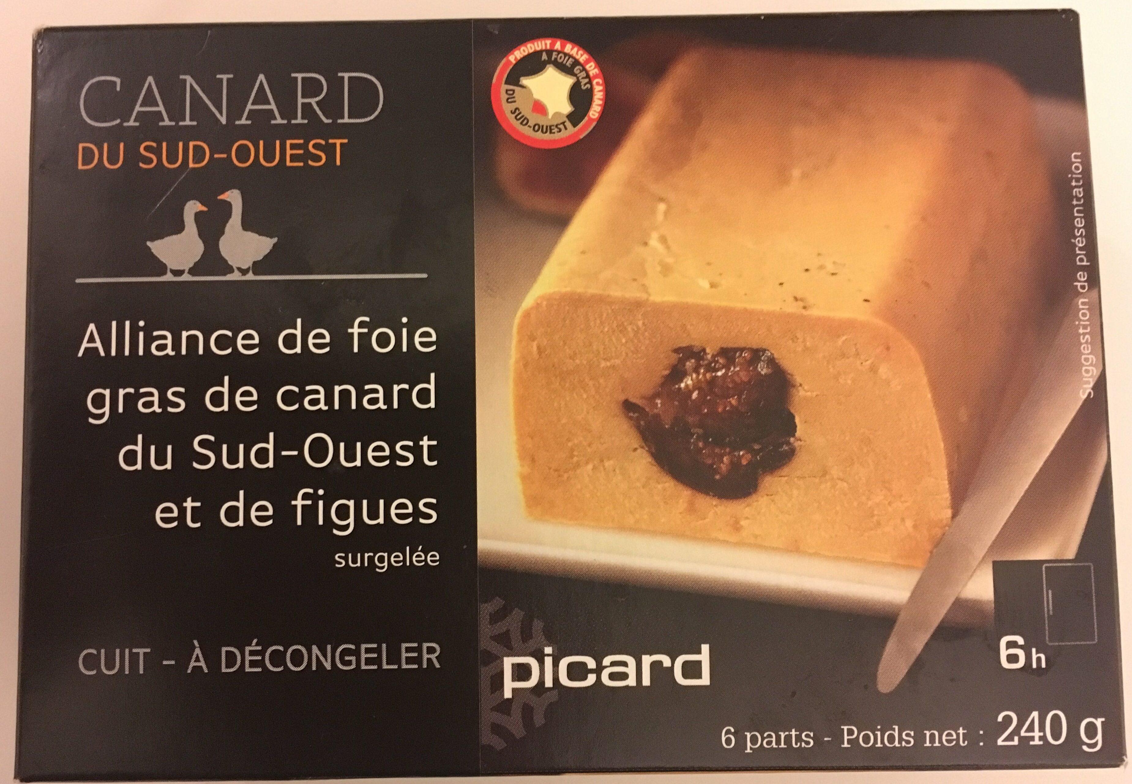 Alliance de Foie Gras de Canard du Sud-Ouest et de Figues - Produit