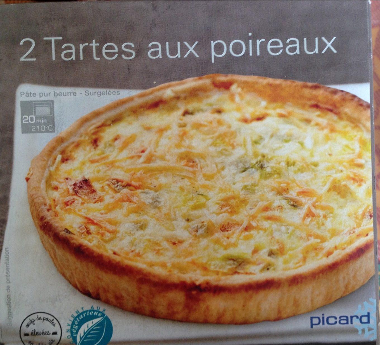 2 Tartes Aux Poireaux - Product - fr