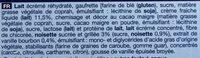 6 Cônes Vanille, Boîte De 720 Millilitres - Ingrediënten