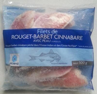 Filets de rouget-barbet Cinnabare - Product - fr