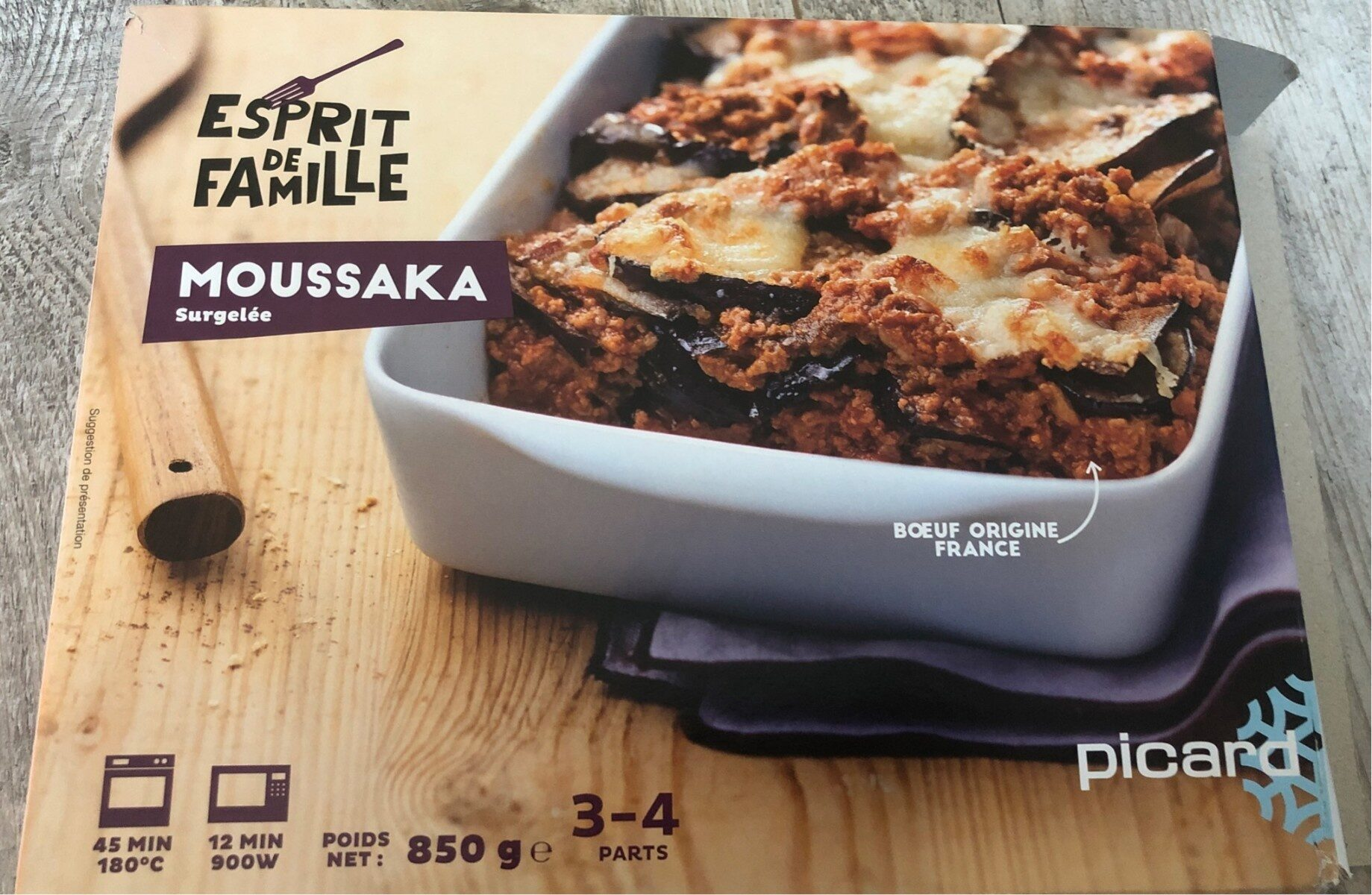 Moussaka - Product - fr