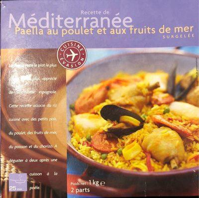 Paella au poulet et aux fruits de mer - Produit - fr