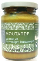 Moutarde au miel et au vinaigre balsamique - Product - fr