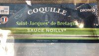 Coquille Saint-Jacques de Bretagne, Sauce Noilly - Produit - fr