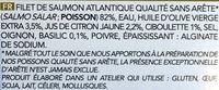 4 tartares de saumon à la ciboulette - Ingrediënten - fr