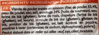 Nuggets de poulet panés - Ingredients - fr