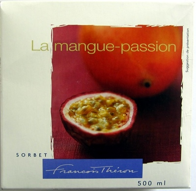 Sorbet mangue-passion - Produit
