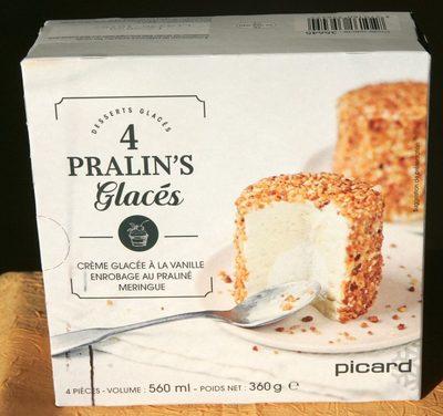 4 Pralin's glacés - Product - fr