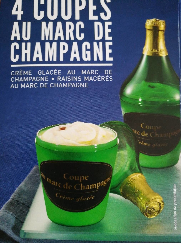 4 Coupes au Marc de Champagne - Product - fr