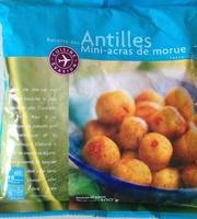 Mini-acras de morue, Préfrits surgelés - Product - fr