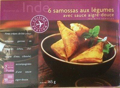 Samossas aux légumes avec sauce aigre-douce - Product - fr