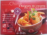 6 beignets de crevette avec sauce aigre-douce - Product - fr