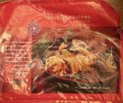 Nouilles sautées à la chinoise Surgelées - Produit