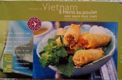 8 Nems au poulet et à la coriandre - Product - fr