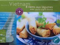 8 Nems aux Légumes avec Sauce Aigre Douce - Produit