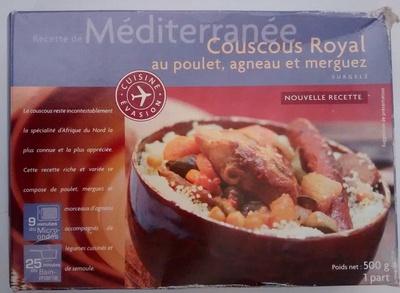 Couscous Royal au poulet, agneau et merguez - Produit - fr