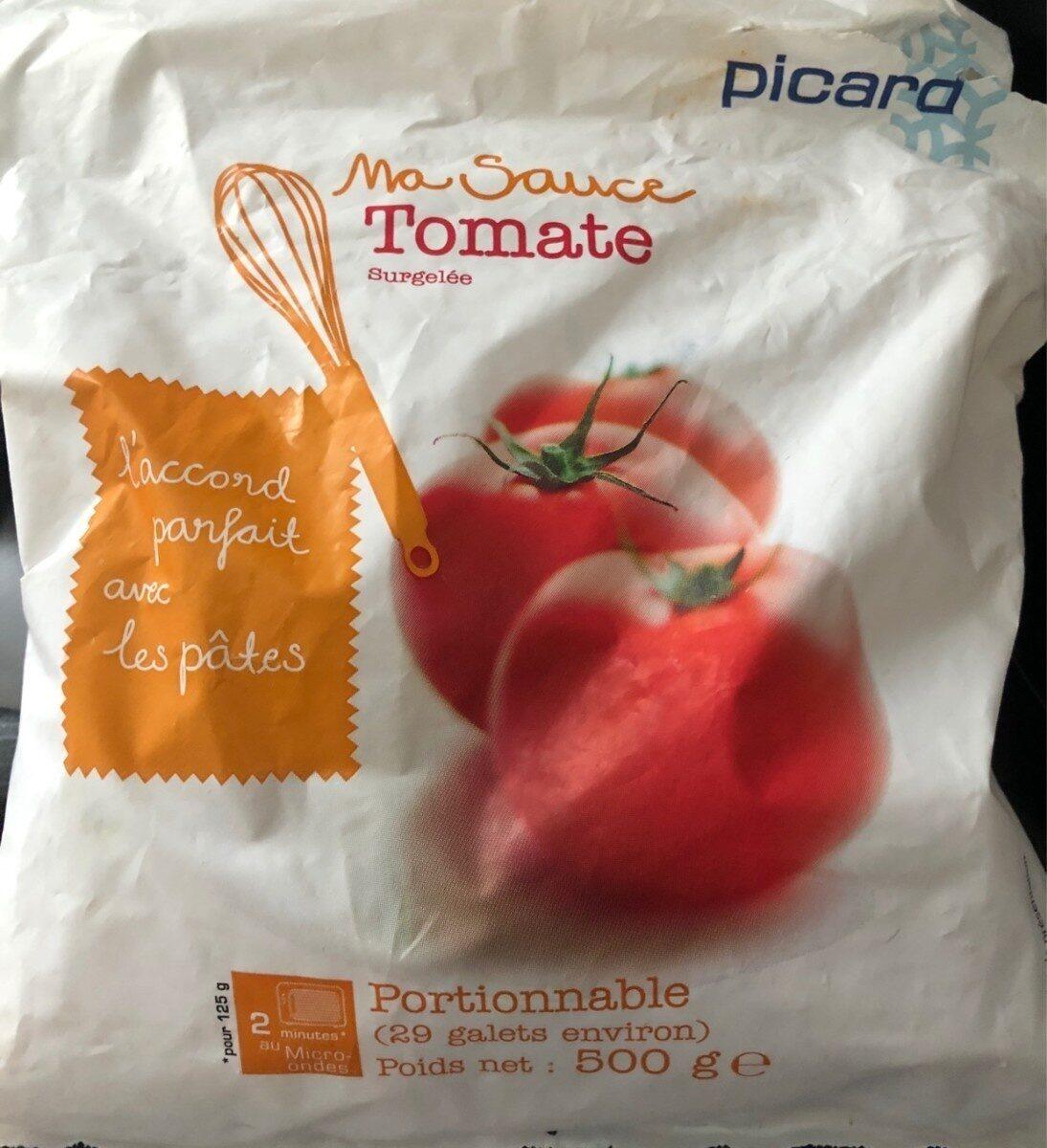 Ma sauce tomate - Valori nutrizionali - fr