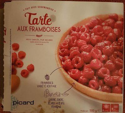 Tarte aux framboises - Product - fr