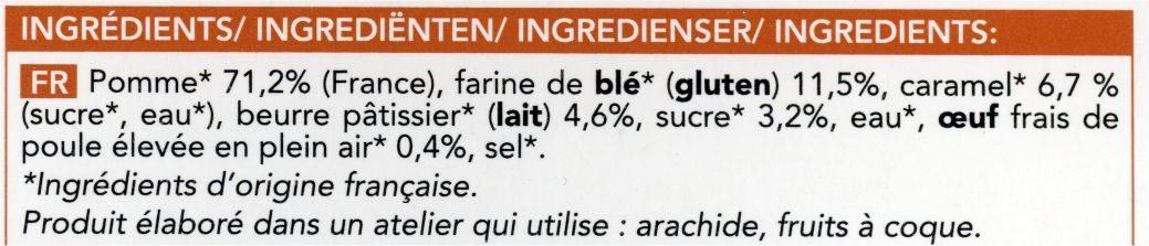 Tarte Tatin - Ingredienti - fr