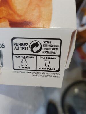 Tarte Tatin - Istruzioni per il riciclaggio e/o informazioni sull'imballaggio - fr