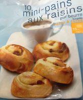 Mini Pain aux Raisins - Produit - fr
