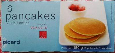 6 Pancakes au Lait Entier - Produit - fr