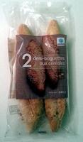 2 demi-baguettes aux céréales - Product