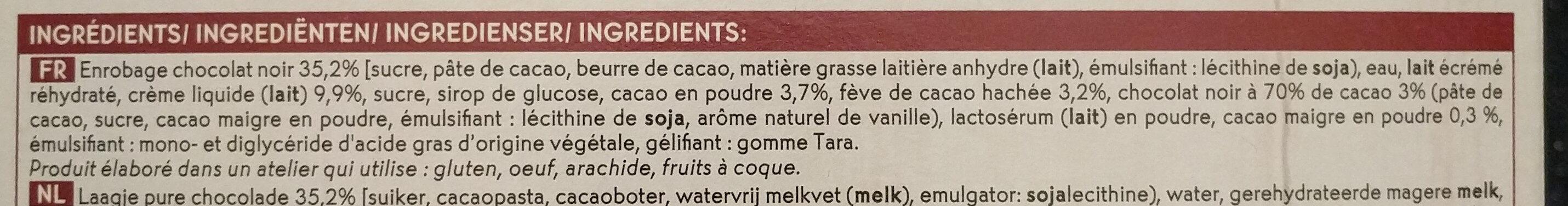 Chocolat 70% cacao - Ingrédients - fr