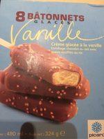 8 Bâtonnets Glacés Vanille - Product - fr