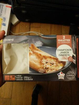 Galette au sarrasin, Champignon Jambon Emmental - Product