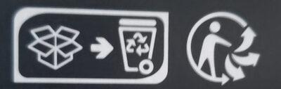 Galette au sarrasin - Champignon, jambon, emmental - Recyclinginstructies en / of verpakkingsinformatie - fr