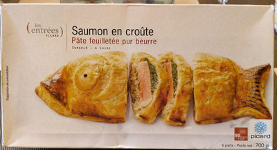 Saumon en Croûte - Produit - fr