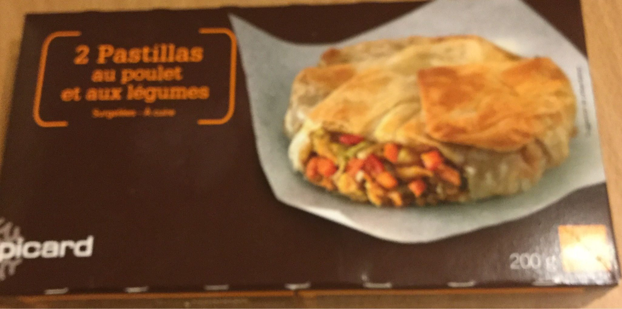 Pastilla poulet legumes - Produit