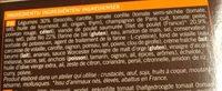 Pastilla poulet legumes - Ingrédients