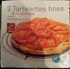 Tartelettes fines à la tomate - Product