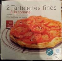 Tartelettes fines à la tomate - Product - fr