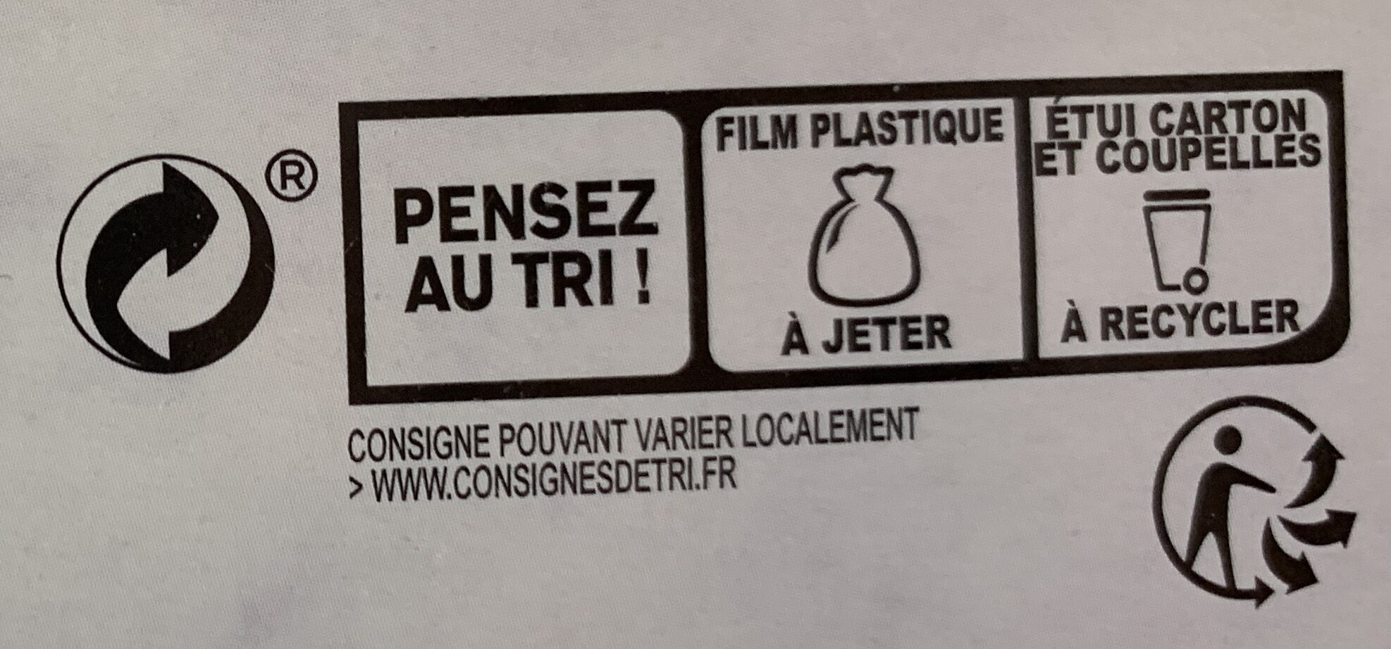 Collection traiteur - 2 Pastillas à l'agneau - Instruction de recyclage et/ou informations d'emballage - fr