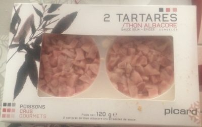 Tartare thon albacore - Product - fr
