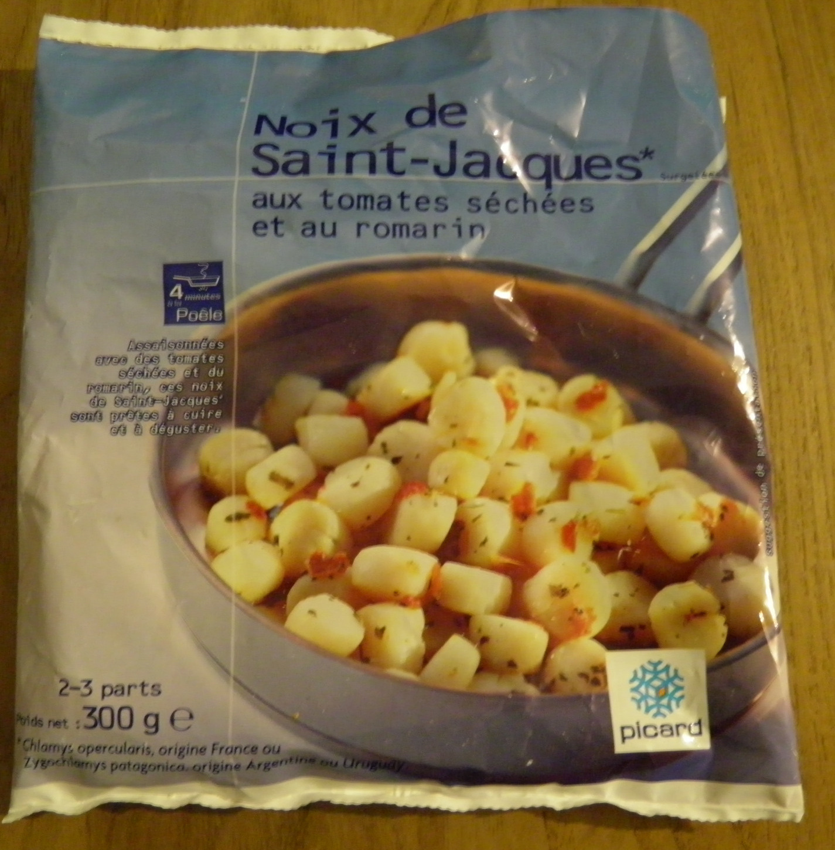 Noix de Saint-Jacques* aux tomates séchées et au romarin, Surgelé - Product - fr