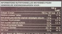 Saumon Bio Fumé d'Irlande - Nutrition facts - fr