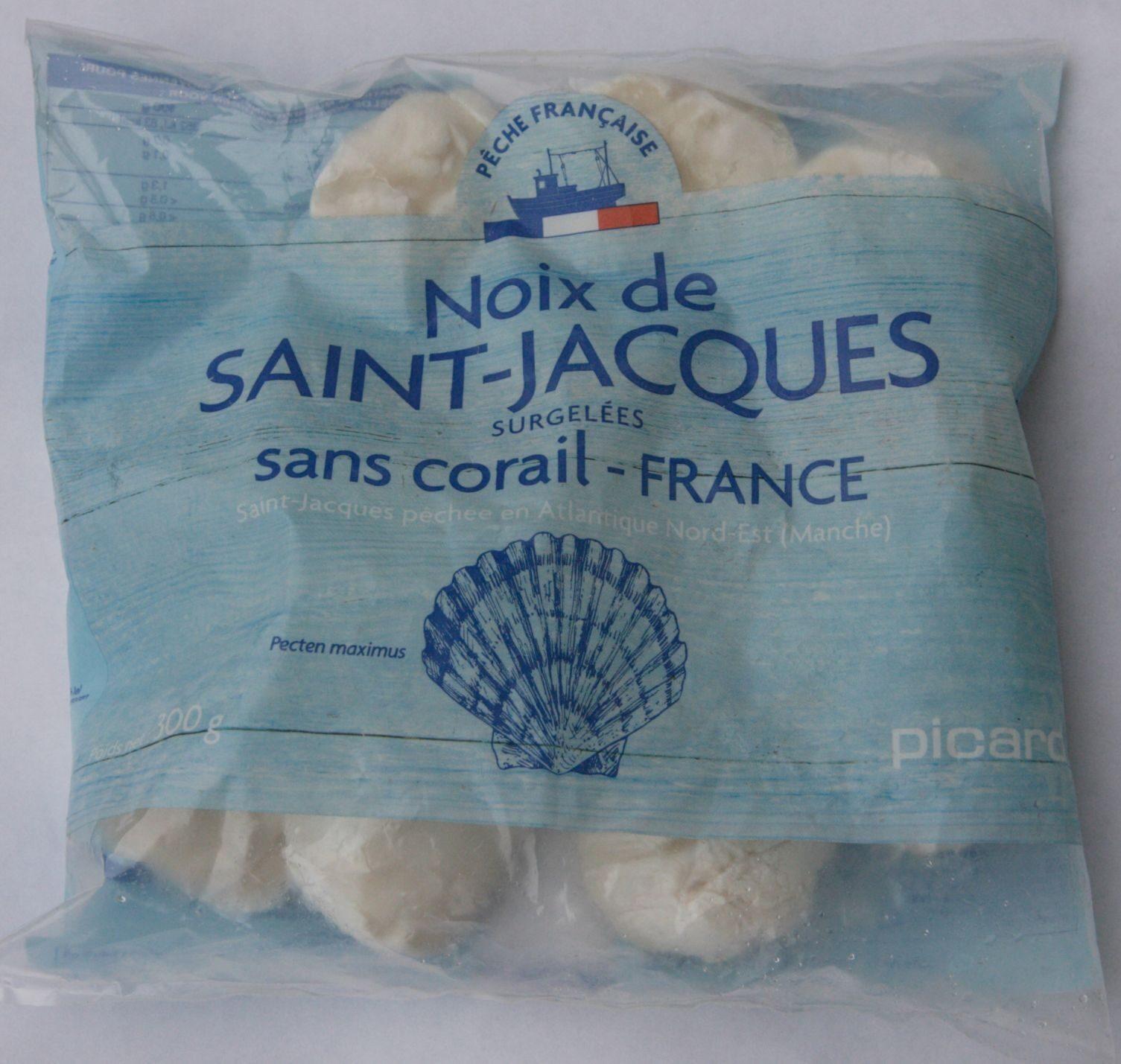 Noix de Saint-Jacques sans corail (France) - Produit - fr