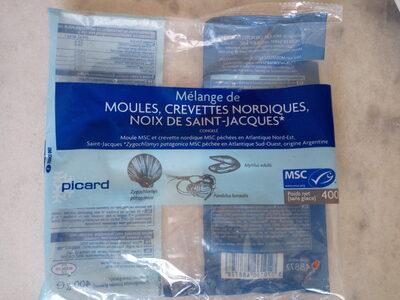 Mélange de moules, crevettes nordiques, noix de saint-jacques - Prodotto - fr