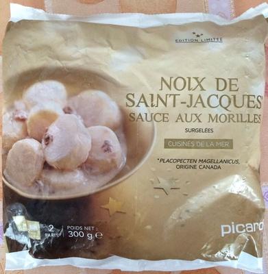 Noix de saint jacques sauce aux morilles surgel es for Picard plats cuisines