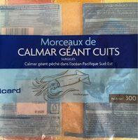 Morceaux de Calmar Géant Cuits - Product