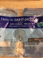 Noix de Saint-Jacques Pérou ASC, avec Corail - Product - fr