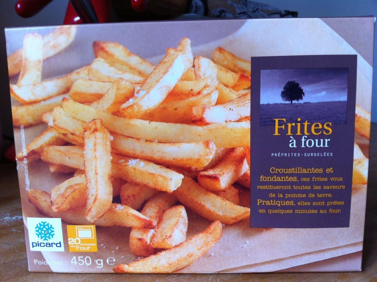 Frites à four - Product - fr