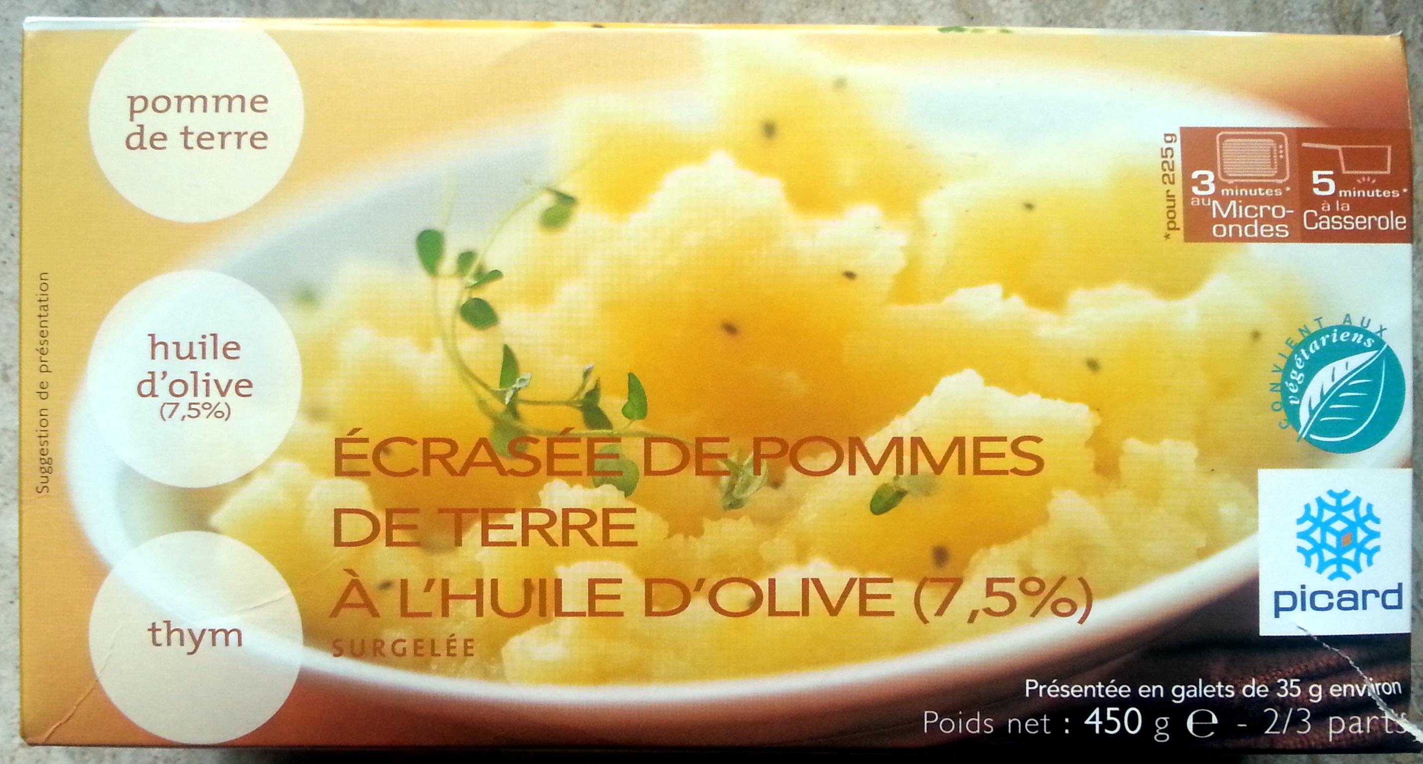 écrasée de pommes de terre à l'huile d'olive (7.5%) - Product